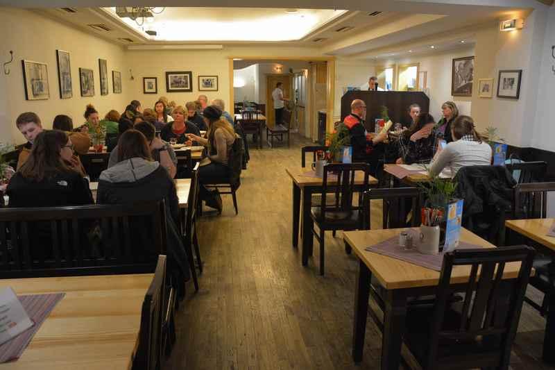 Das Restaurant Schnitzelwirt in München