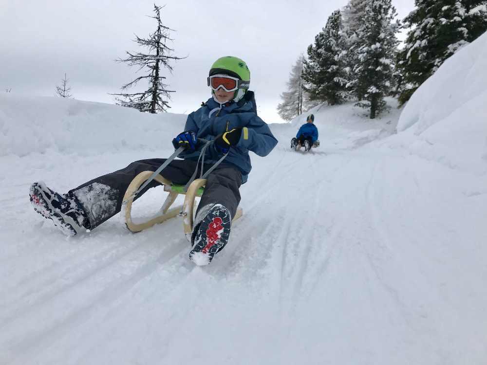 Drei Rodelbahnen in Mayrhofen im Zillertal - du hast die Qual der Wahl!