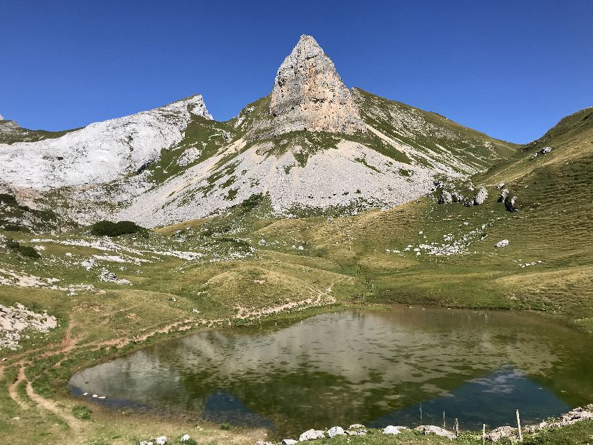 Eindrucksvolle Bergwelt im Rofan