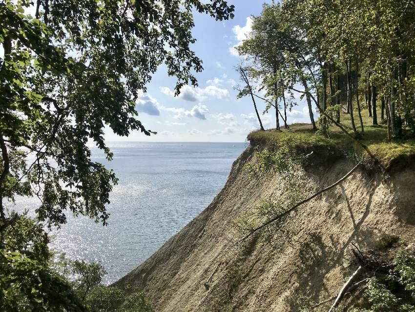 Für uns der schönste Strand in Rügen: Bei den Kreidefelsen