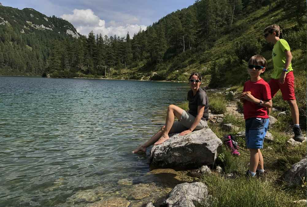 Familienurlaub am See Österreich: Bei Bad Aussee waren wir auf der Tauplitzalm - für eine 6 Seenwanderung. Sehr empfehlenswert!