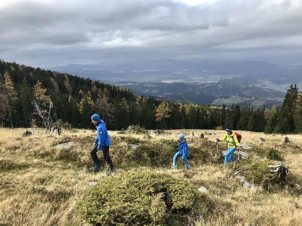 Unsere Wanderung mit Kindern auf der Saualpe in Kärnten