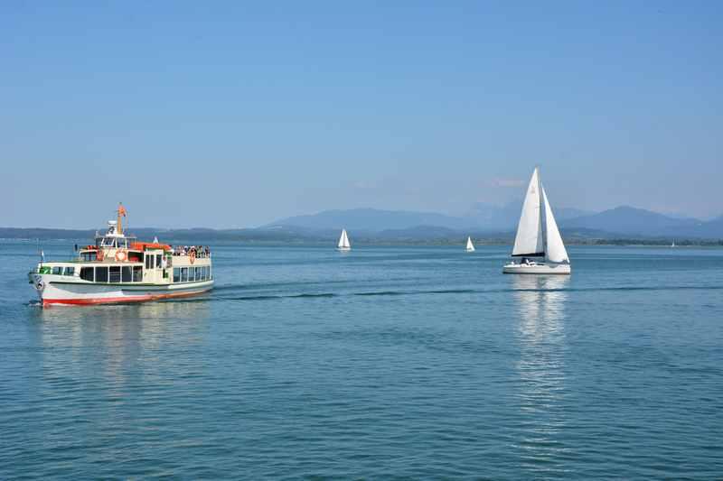 Schifffahrt auf dem Chiemsee mit Kindern oder Segeln?
