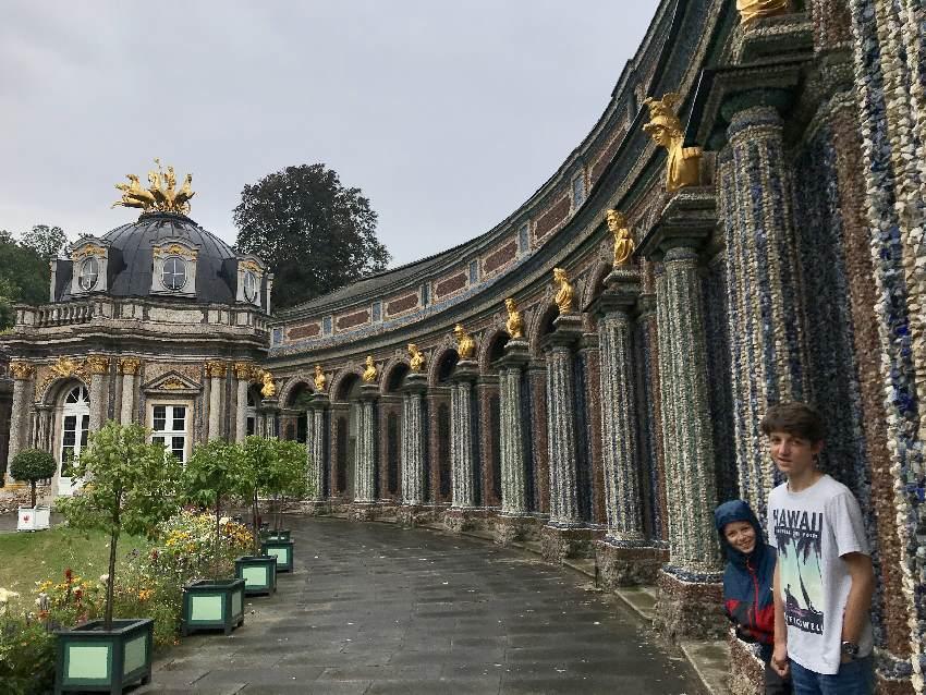 Rund um das Schloss der Eremitage Bayreuth mit Kindern