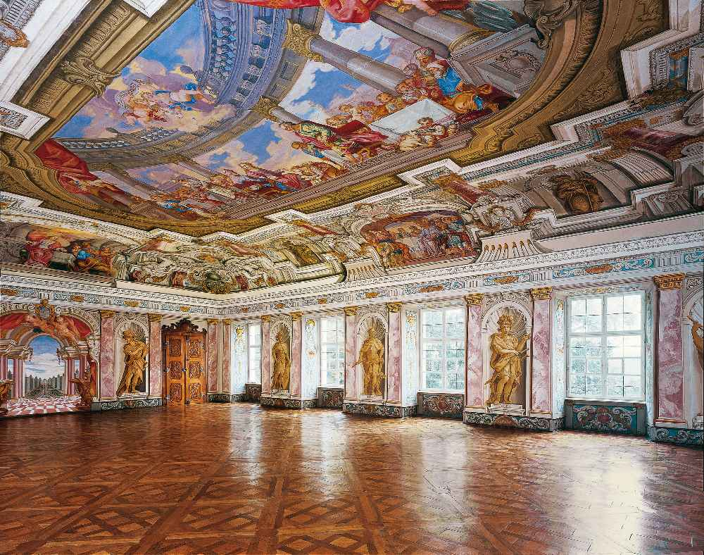 So schaut der Kaisersaal auf Herrenchiemsee aus © Bayerische Schlösserverwaltung, Konrad Rainer, Salzburg