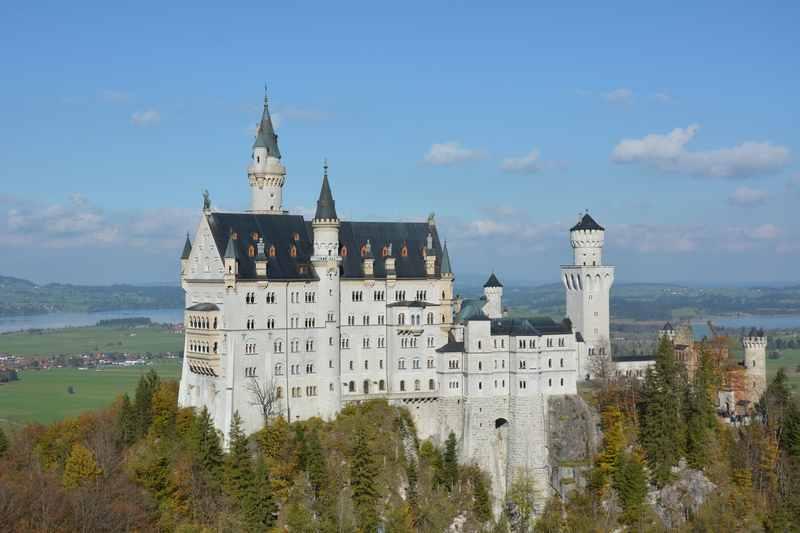 Rund um das Schloss Neuschwanstein mit Kinderwagen wandern - incl. Postkartenblick auf das Königsschloss