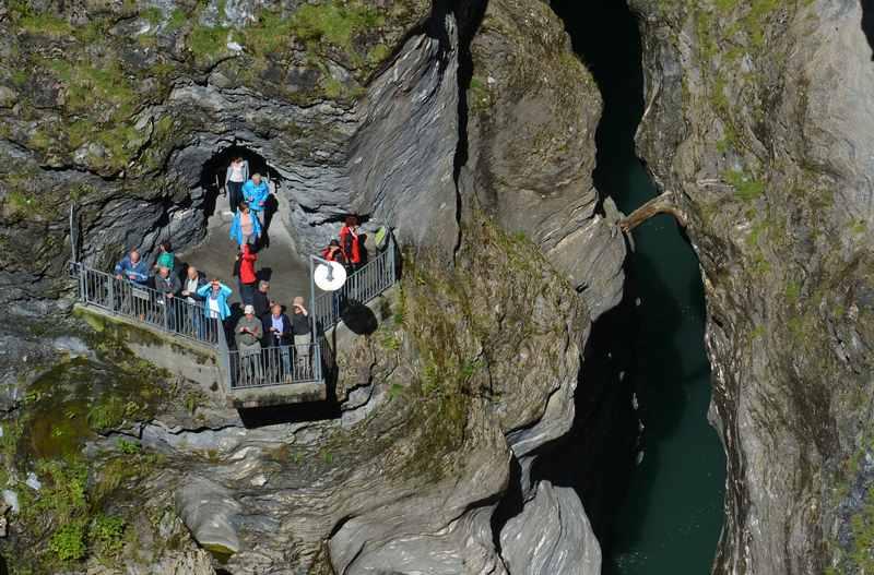 Die schönsten Schluchten in der Schweiz: Rheinschlucht, Via Mala, Schöllenenschlucht mit Teufelsbrücke?
