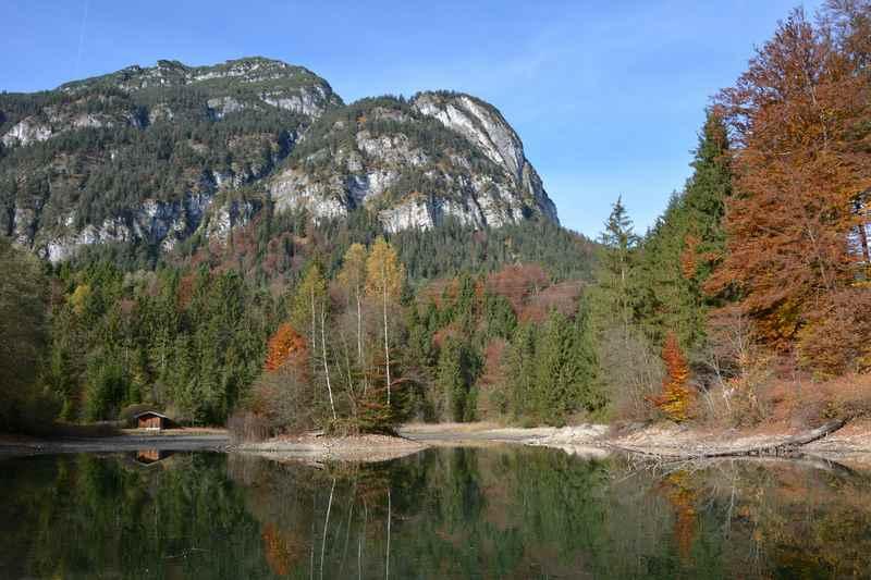 Das erste Wanderziel mit Kindern: Der Schmölzer See in Garmisch Partenkirchen