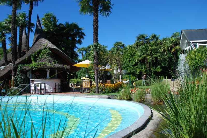 Familienurlaub am See in der Schweiz - im Luxus Familienhotel im Tessin