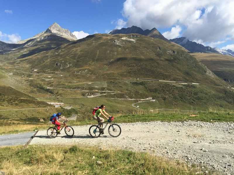Schweiz mit Kindern - hier in Graubünden war es echt schön, nahe der Rheinquelle