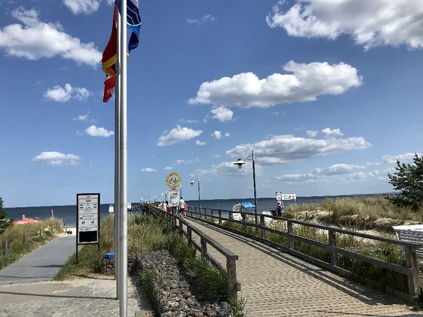 Seebrücke Usedom: Das ist die Seebrücke in Bansin