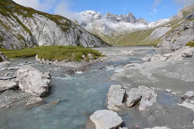 Am Segnesboden wandern mit Kindern, Flims in Graubünden