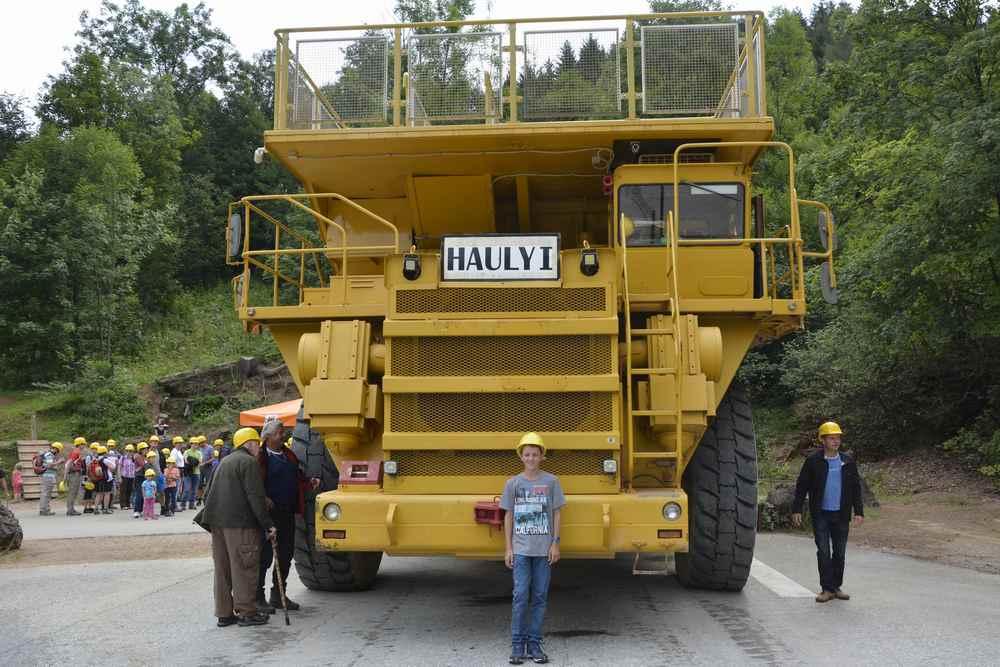 Hauly Erzberg:  Groß wie ein Einfamilienhaus!