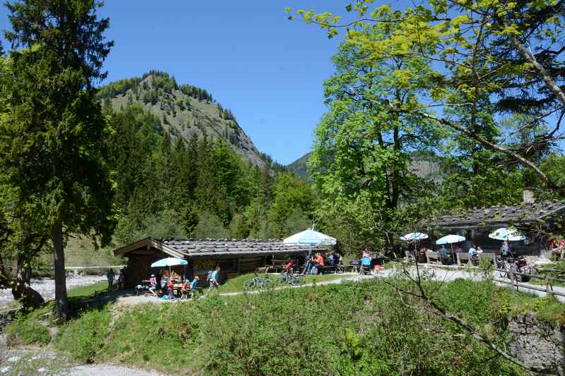 Wunderschöne Kulisse bei Siebenhütten im Tegernseer Tal