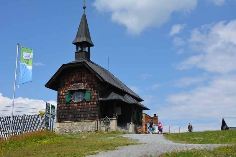 Die Sissi Kapelle auf der Schmittenhöhe