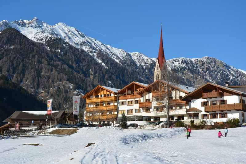Familienhotel Huber: Skihotel mit Kindern