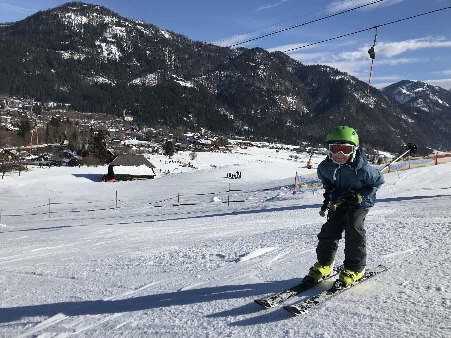 Tagsüber kostenlos Skifahren mit Kindern in Kärnten