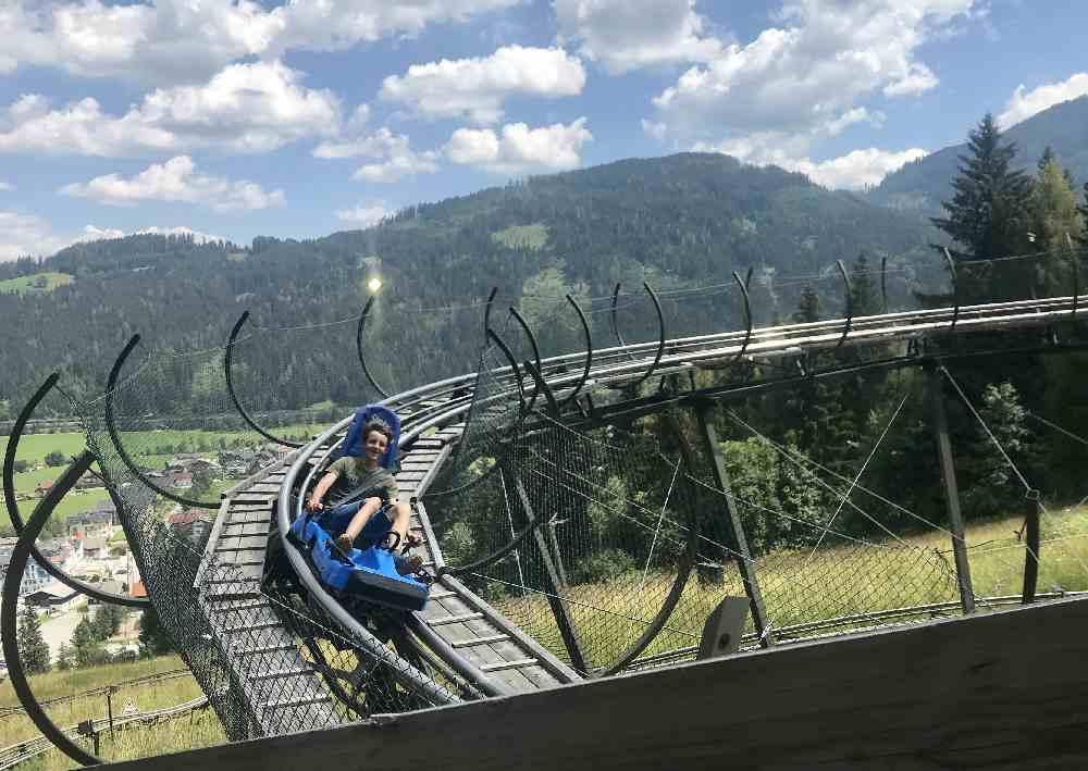 Sommerrodeln Salzburg - Der Lucky Flitzer