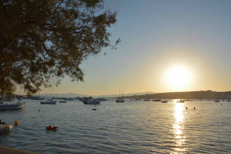 Familienhotel Paros - diesen Sonnenuntergang fanden wir besonders schön