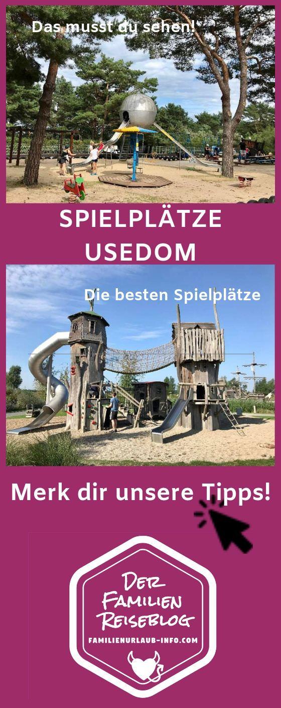 Merk dir diesen Pin der schönsten Spielplätze Usedom - für deinen nächsten Familienurlaub Ostsee!