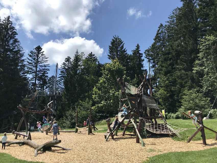 Ein besonderer Spielplatz im Allgäu - im Skywalk Scheidegg