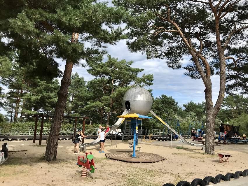 Usedom Spielplatz an der Strandpromenade Zinnowitz