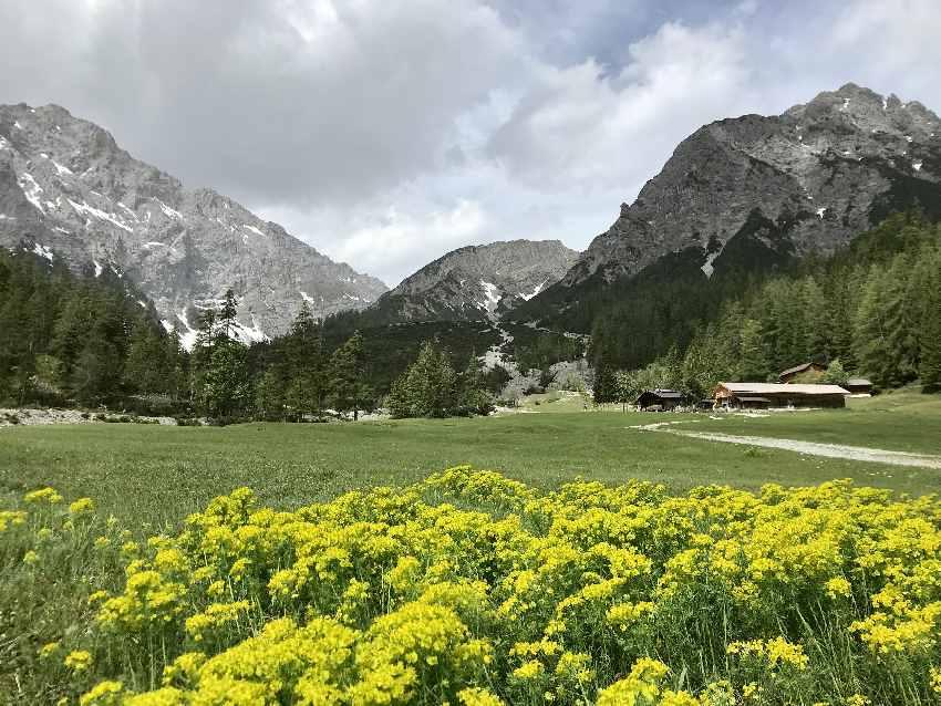 Zur Stallenalm im Karwendel wandern