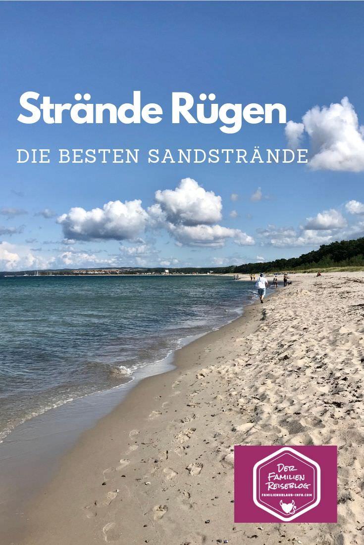Strände Rügen merken - poste dir diesen Pin gleich bei Pinterest, damit du diese schönen Sandstrände wieder findest!