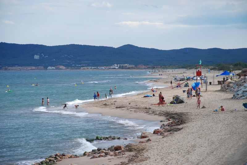 l'Estartit Spanien - der Strand zum Baden