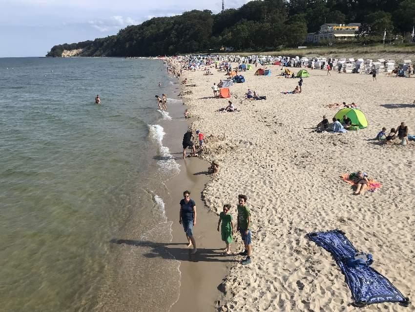 Wo ist der schönste Strand in Rügen mit Kindern?