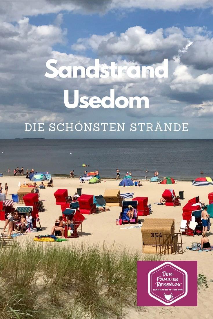 Unser Strandführer für deinen schönsten Usedom Strand im Familienurlaub