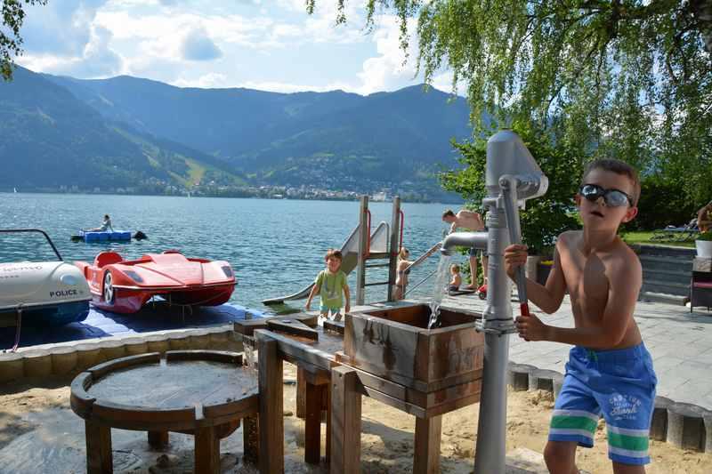 Zell am See mit Kindern im Sommer