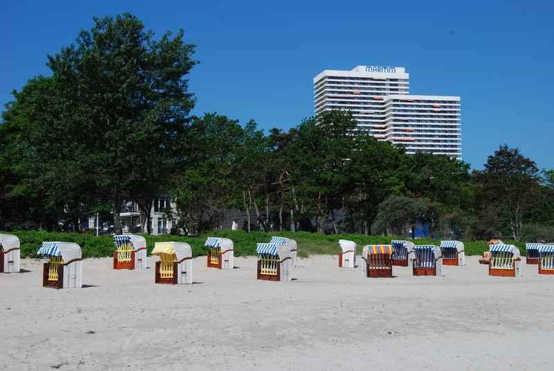 Auch Realität: Familienhotel Deutschland direkt am Strand