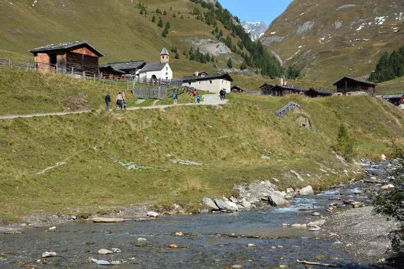 Zur Fanealm in Südtirol wandern mit Kindern - sehr lohnenswert und idyllisch