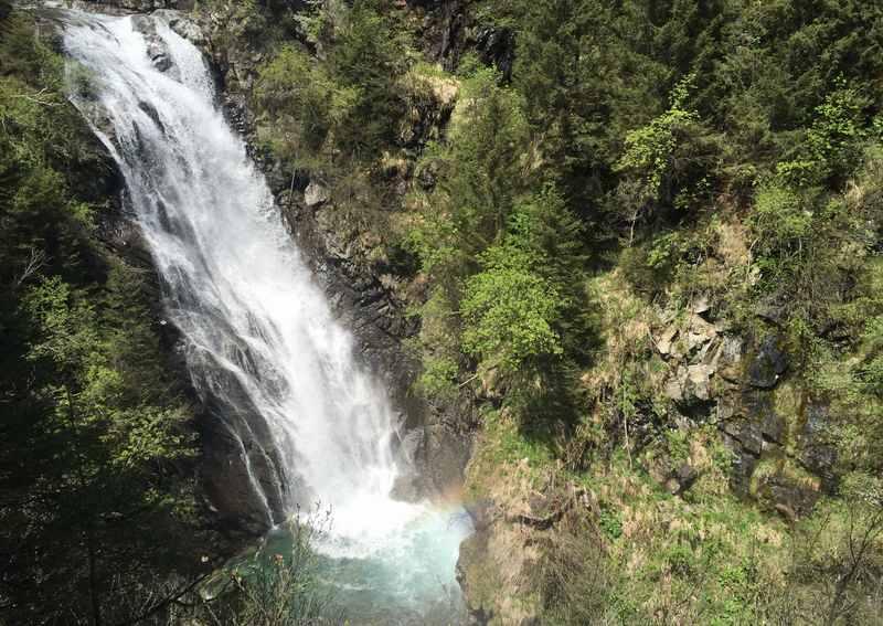 Am Wasserfallweg in Südtirol wandern