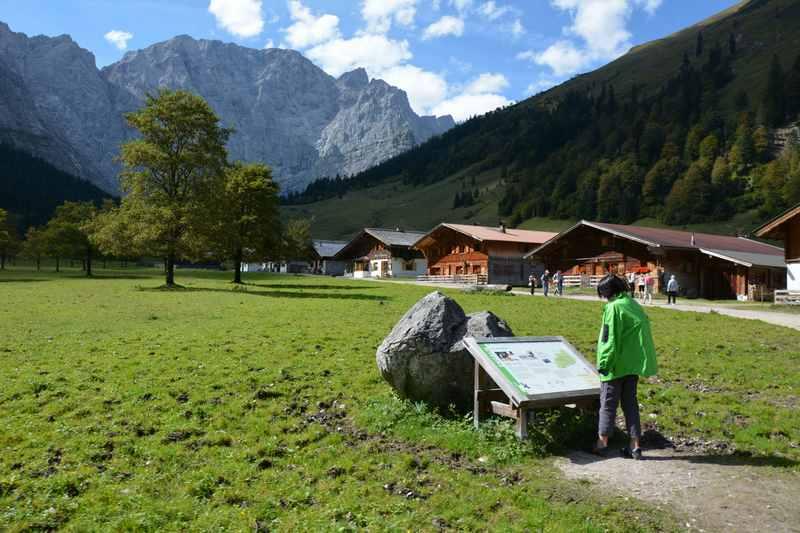 Der Themenweg Engalm über das Karwendel