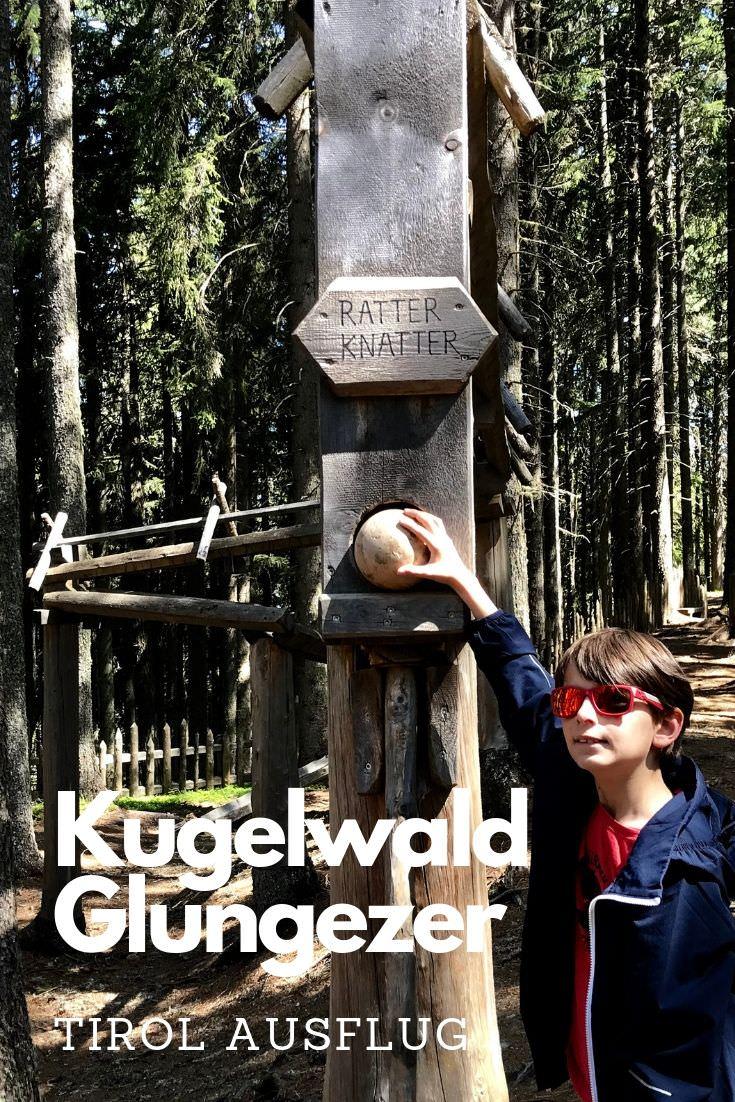 Ausflug bei Hitze zum Kugelwald am Glungezer:  Sehr kurzweilig, schattig und kühl