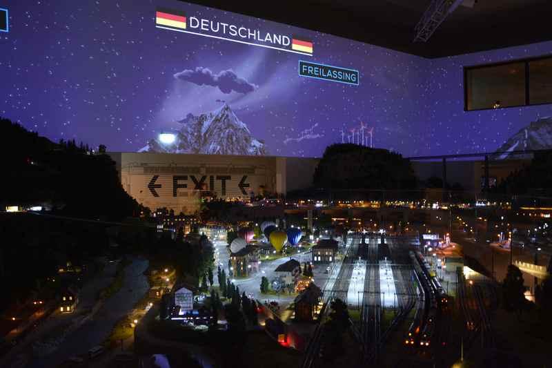 Ausflug mit Kindern ins Traumwerk - dem Ausflugsziel von Hans Peter Porsche im Chiemgau nahe Berchtesgaden