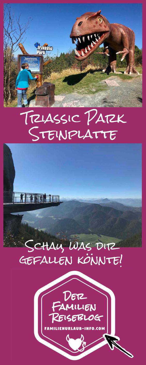 Triassic Park Tirol - viel geboten am Berg! Am besten auch gleich den Pin merken oder per Facebook teilen!