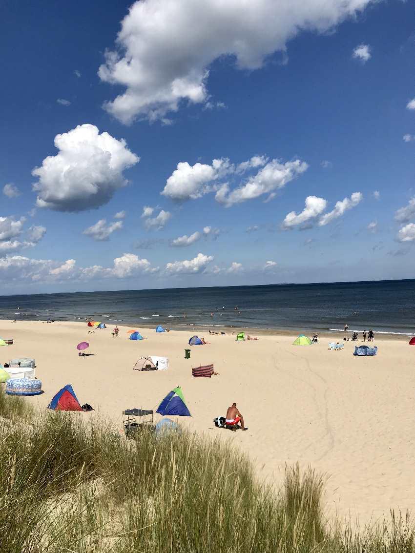 Ein toller Usedom Strand, der Trassenheide Strand