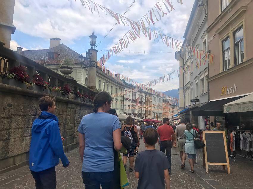 Villach mit Kindern - Stadtrundgang durch die Altstadt