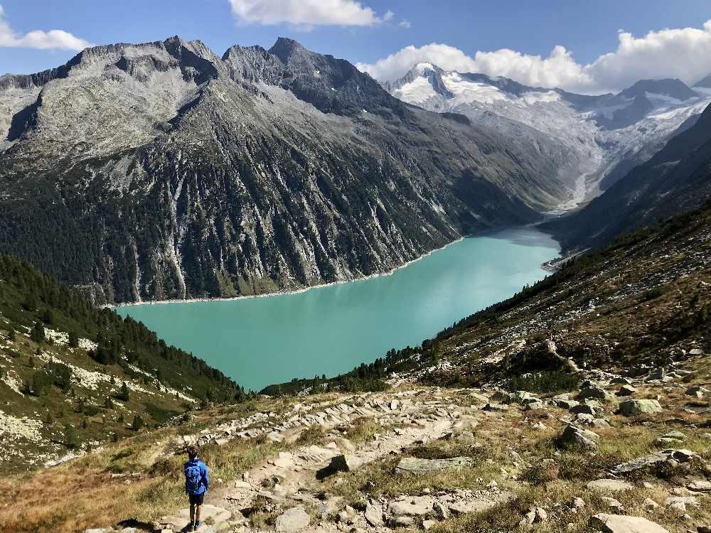 Die besten Ausflugsziele mit Kindern in Tirol 2020: Der Schlegeisspeicher