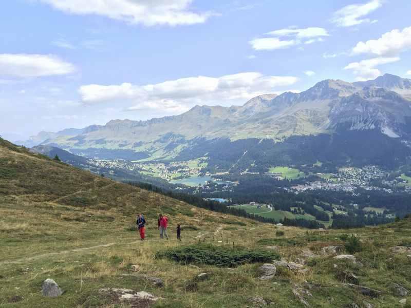 Auf den Crap la Pala - wandern mit Kindern in Lenzerheide, Graubünden