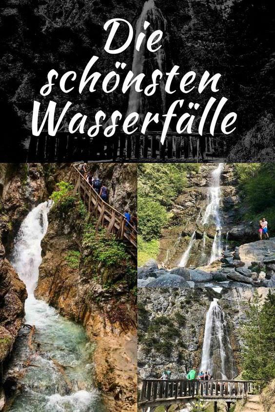 Ausflug bei Hitze:  Zu einem Wasserfall in Tirol mit Kindern