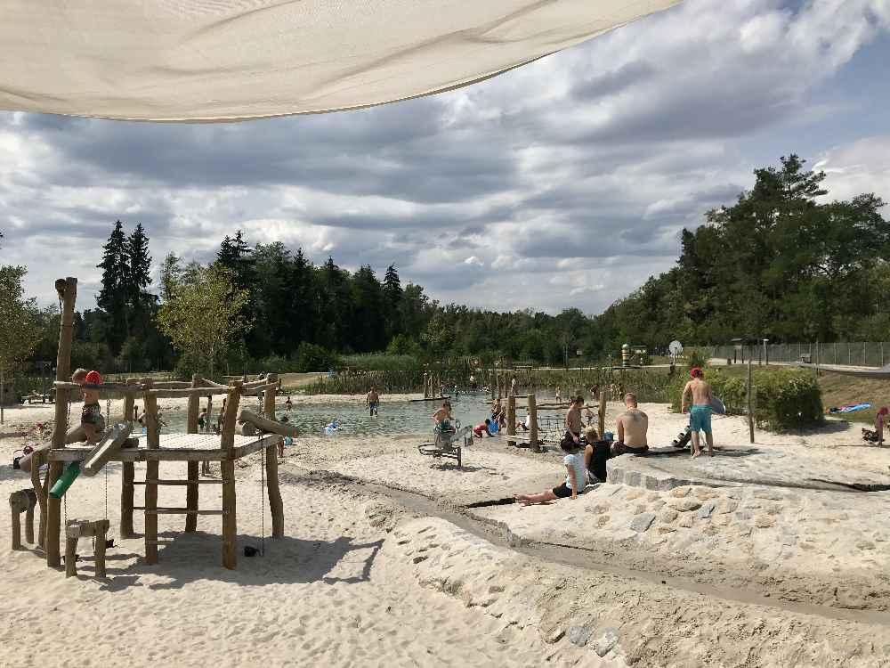 Super Spielplatz am Murner See - der beste Wasserspielplatz in der Oberpfalz!