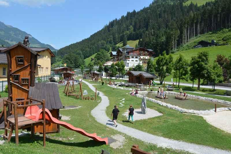 Spielplatz Salzburg - die Gaudialm in Großarl