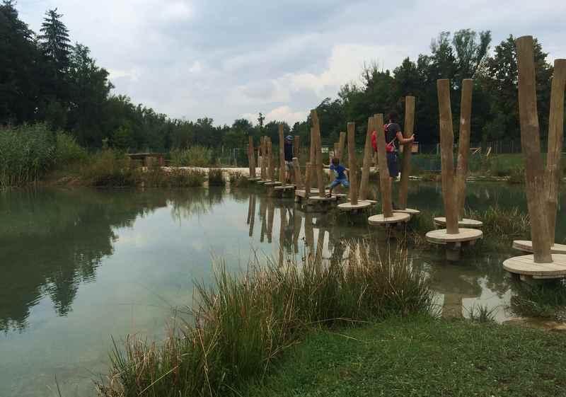 Erlebnispark Wasser Fisch Natur - sehr gut gemacht!