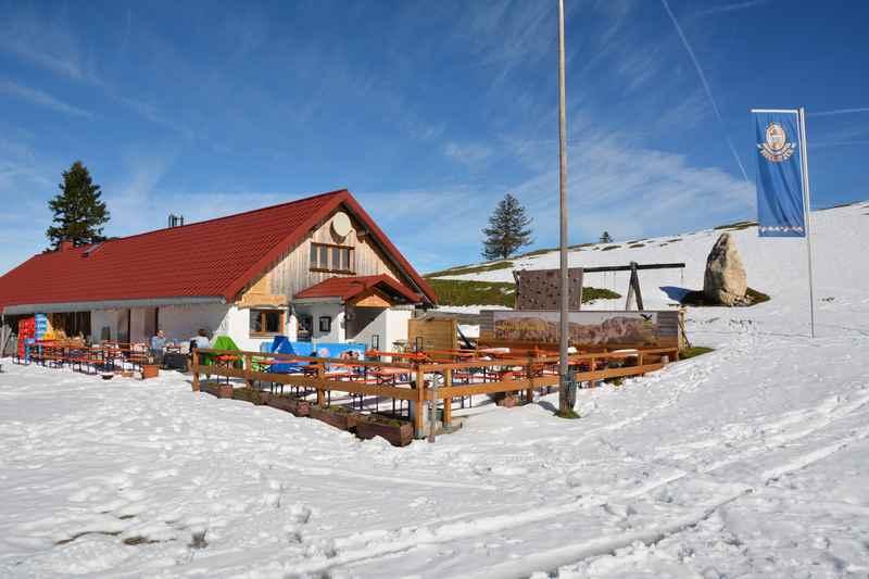 Die Wiedhagalpe in Oberjoch, leichte Wanderung im Allgäu mit Kindern