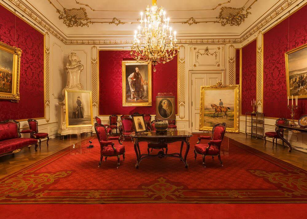 Im großen Salon empfing der Kaiser seine Gäste, © Schloß Schönbrunn Kultur- und Betriebsges.m.b.H., Foto Alexander Eugen Koller