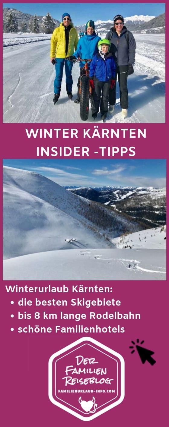 Skiurlaub mit Kindern Kärnten - merk dir unsere Tipps für deinen nächsten Winterurlaub!